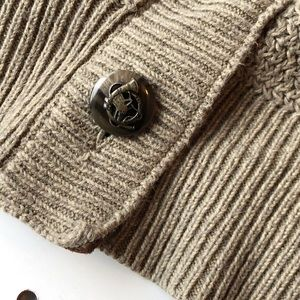 Lauren Ralph Lauren Sweaters - LAUREN LRL menswear styled cardigan elbow patch